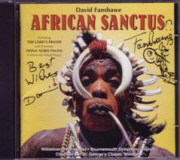 African Sanctus CD