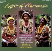 CD of Spirit of Micronesia